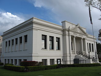 Colton, California - 1908 Colton Carnegie Library, now home to the Colton Area Museum.