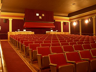 Folding seat - Image: Columbia City Cinema main hall