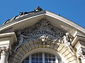 Comedy Theatre. Listed -8361. Above the Main entrance. - Budapest.JPG