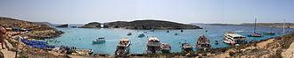 Cominotto - Image: Comino Blue Lagoon