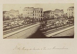 Praça do Conde d'Eu em Pernambuco