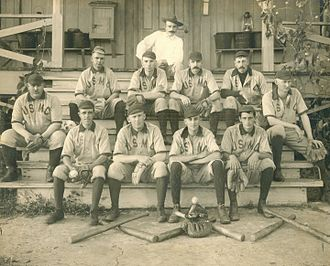 Baseball in the Philippines - Company B, 2d Regiment Baseball Team in the Philippines, March 1903. The Americans introduced baseball in the Philippines as early as the 1890s.