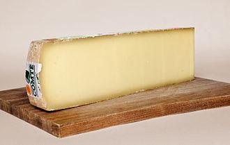Comté cheese - Image: Comte AOP