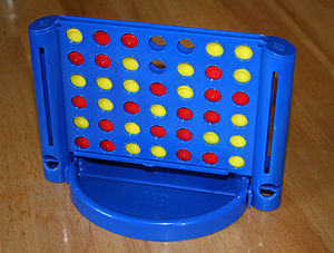 Connect Four - A travel version of the Milton Bradley game.