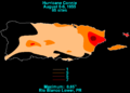 Connie 1955 Puerto Rico rainfall.png