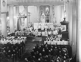 John Charles McQuaid - McQuaid's consecration at St. Mary's Pro Cathedral
