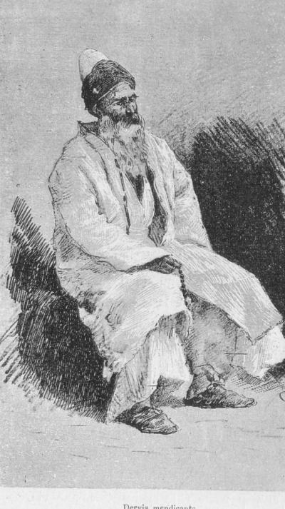 Constantinople(1878)-begging dervis