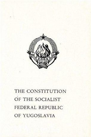 Constitution of SFR Yugoslavia 1974