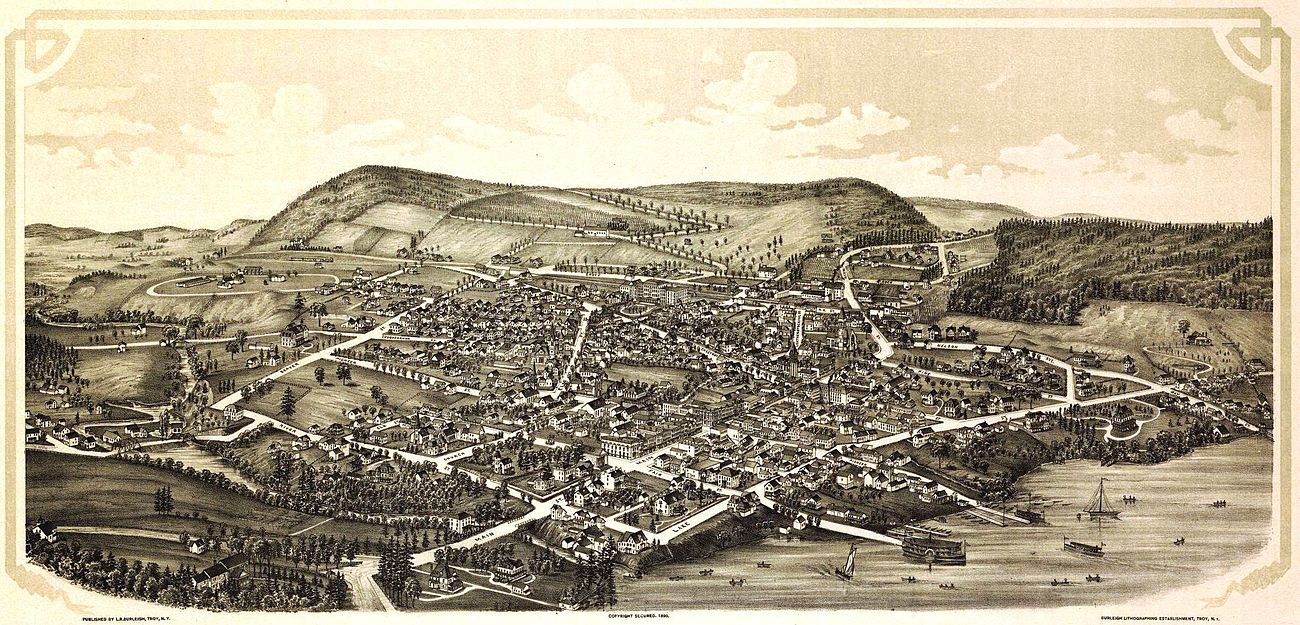 Cooperstown depicted on an 1890 panoramic map Cooper-1 crop.jpg