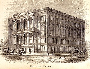 Cooper Union - Cooper Union in 1876