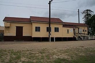 Cooroy railway station - Cooroy railway station