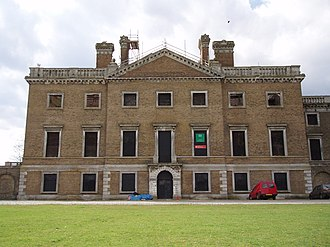 Copped Hall - East elevation (May 2004)