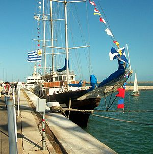National Navy of Uruguay - Schooner ROU Capitán Miranda, training ship of the Uruguayan navy