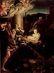 Antonio da Correggio: Nativity