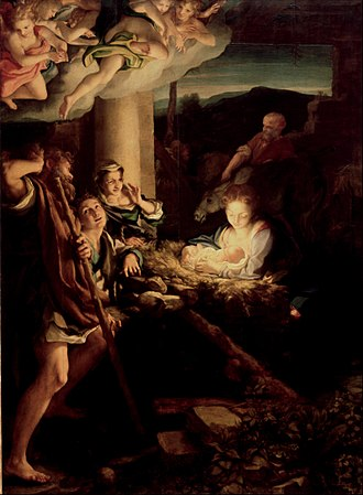 Antonio da Correggio - Nativity (c.1529–30)