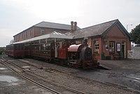 Corris loco 7 on Talyllyn - 2011-10-23.jpg