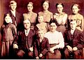 Cousin von Jakob Unrau Gerhard Bergen mit Familie in den USA.jpg