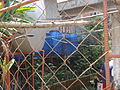 Covering water to prevent dengue, Baguio, Philippines 2011. Photo- AusAID (10690477873).jpg