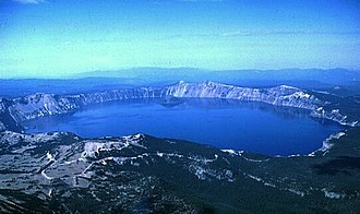 Crater Lake - Crater Lake from above