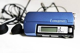 Creative MuVo - MuVo TX FM 512 MB