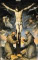 Crocifissione con san Francesco e sant'Antonio - Muziano.png
