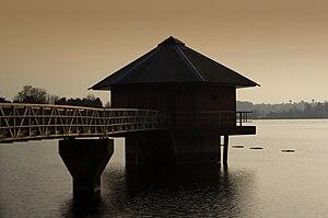 Cropston Reservoir - Image: Cropston Reservoir Building