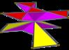 Çapraz çarpı eşitsiz altıgen prism.png