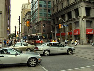 King Street (Toronto) - King Street at Yonge