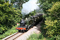 Crowcombe, West Somerset Railway at Stones Wood - geograph.org.uk - 51665.jpg