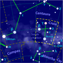 Description de l'image  Crux constellation map-fr.png.