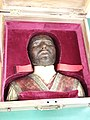 Curia of the Society of Jesus archives, death mask of St Ignatius, Rome (28941782637).jpg