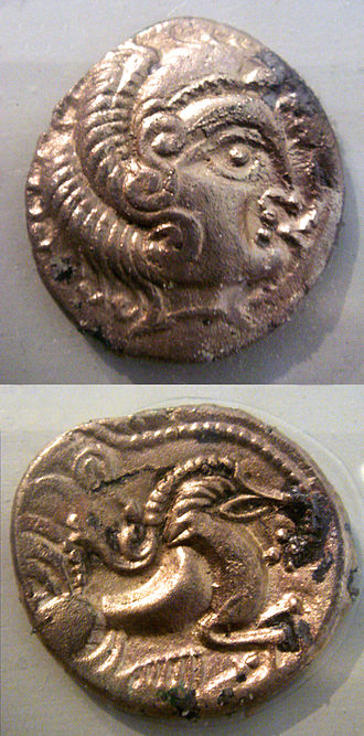 Curiosolitae - Coins of the Curiosolitae, 5th-1st century BCE.