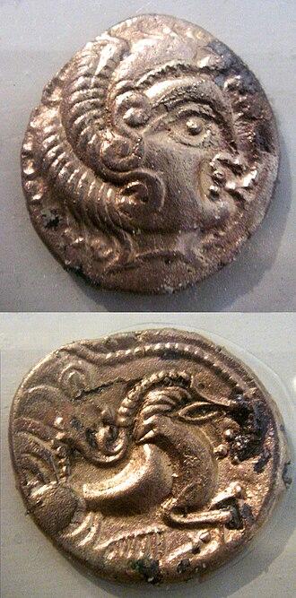 Curiosolitae - Coins of the Curiosolitae, 5th-1st century BCE.