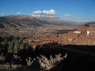 Pillku Urqu mountain in Peru