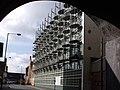 Custard Factory, Heath Mill Lane from railway viaduct arch (4009017197).jpg