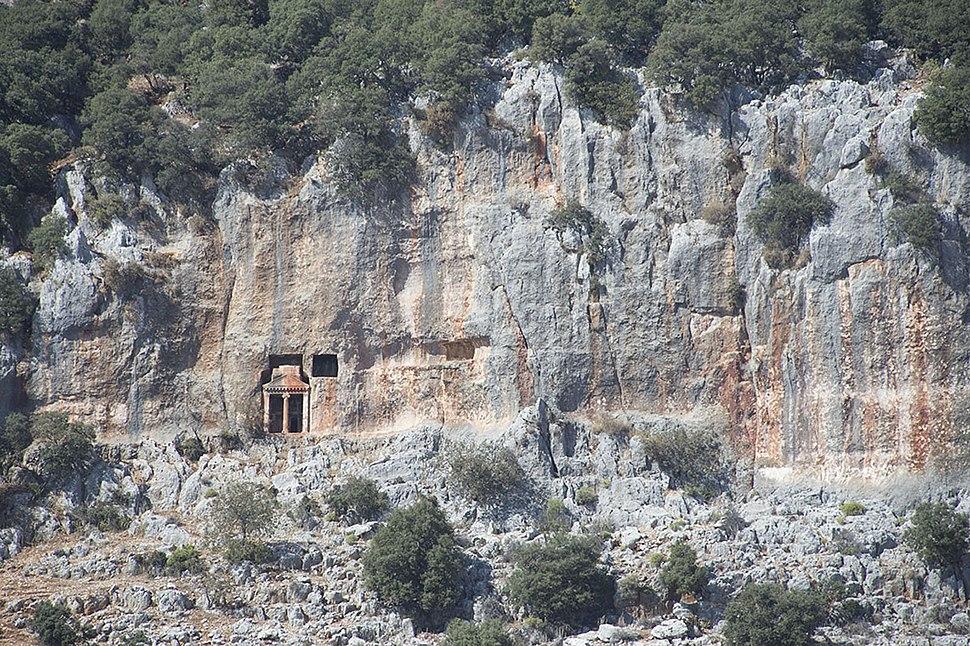 Cyaneae Rock graves 0211
