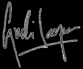 Cyndi Lauper - Image: Cyndi Lauper (signature)