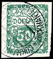 Czechoslovakia 1918 500h postage due.jpg