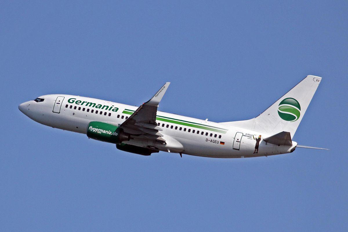 Boeing 737-700 der Germania