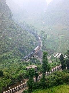Guizhou–Guangxi railway