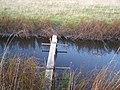 DIY Footbridge over ditch to Seawall - geograph.org.uk - 1023529.jpg