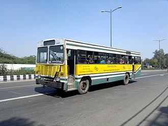Delhi Transport Corporation - Older Bus from DTC