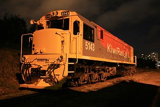 GE U26C - DXB 5143 at Mainline Steam Parnell, Auckland