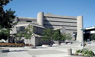 D. B. Weldon Library - Image: D B Weldon Library University of Western Ontario 1