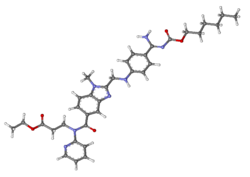 Dabigatran etexilate ball-and-stick.png