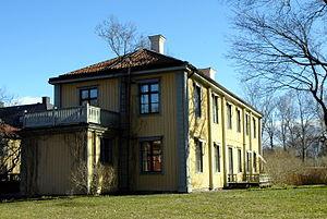 Dag Hammarskjöld Foundation - The Dag Hammarskjöld centre in Uppsala, housing the secretariat of the Dag Hammarskjöld Foundation