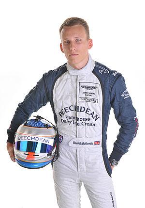 Daniel McKenzie (racing driver) - Daniel McKenzie in his 2013 Beechdean Racing Suit. Currently competing in the Blancpain Endurance Series.