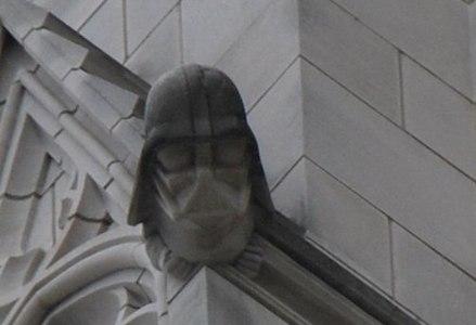 Darth Vader Gargoyle 2008.jpg