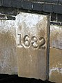 Date stone on bridge - geograph.org.uk - 1241568.jpg