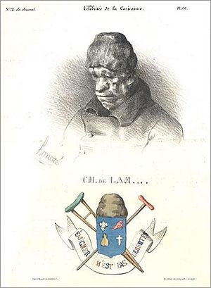 Charles Malo François Lameth - Lameth caricatured by Honoré Daumier, 1832